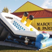 Mini Titanic Bouncy Ship Weekend Hire $250