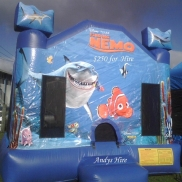 Finding Nemo Bouncy Castle Weekend Hire $190.00