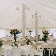 Marquee Interior, Silk Lined