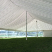 12m x 18m Electron Marquee, Silk Lined