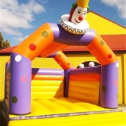 Jester Bouncy Castle Weekend Hire $175